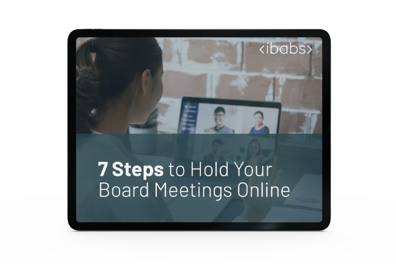 7 Steps to Hold Your Board Meetings Online