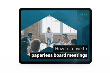 How to move to paperless board meetings