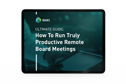How to run truly productive remote board meetings
