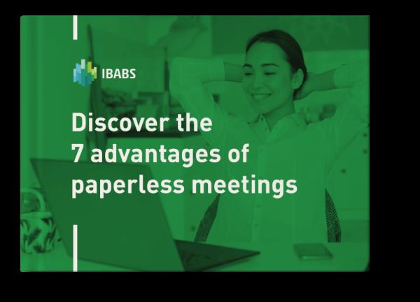 ebook 7 advantages of paperless meetings