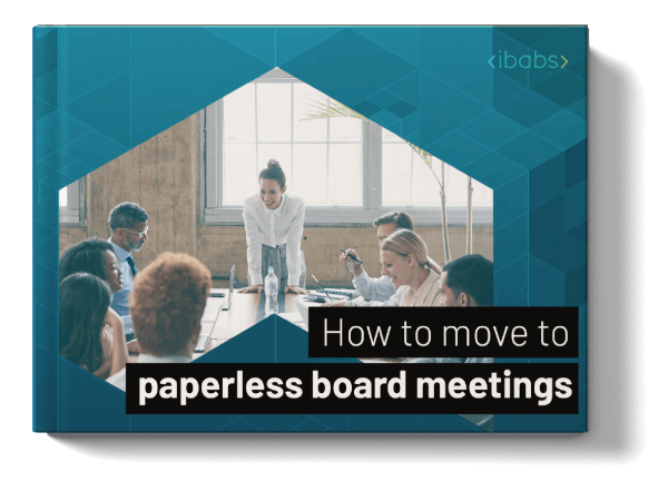mockup how to move paperless board meetings